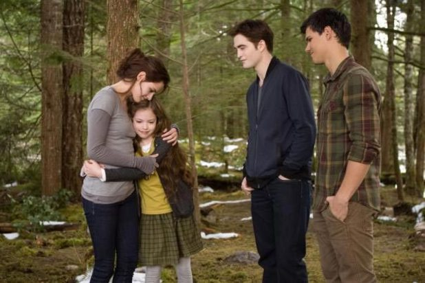 Bella, Edward and Jacob