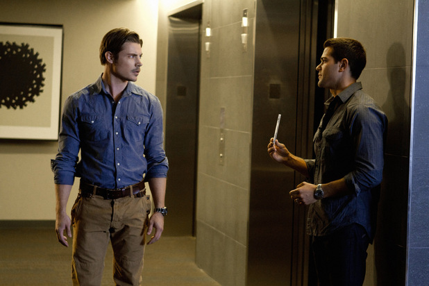 Josh Henderson as John Ross Ewing and Jesse Metcalfe as Christopher Ewing