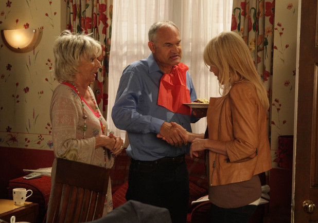 Gloria's B&B scheme in Coronation Street
