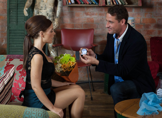 Tony proposes to Cindy.