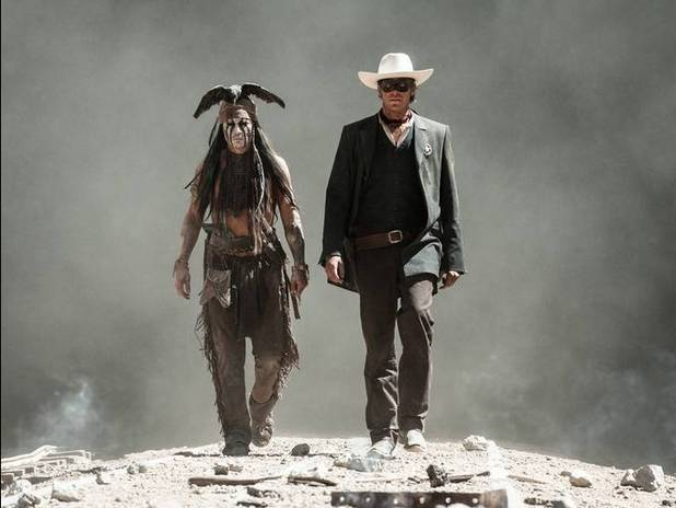 Johnny Depp Armie Hammer Lone Ranger