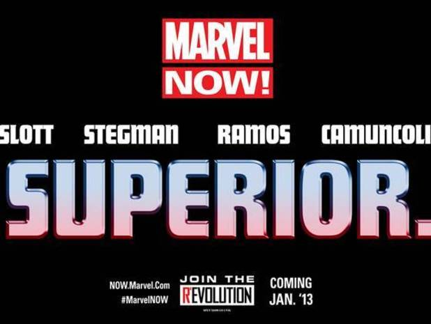 Marvel NOW teaser Superior Dan Slott