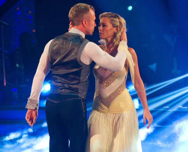 Strictly Come Dancing 2012: (REHEARSALS)  James Jordan and Denise Van Outen