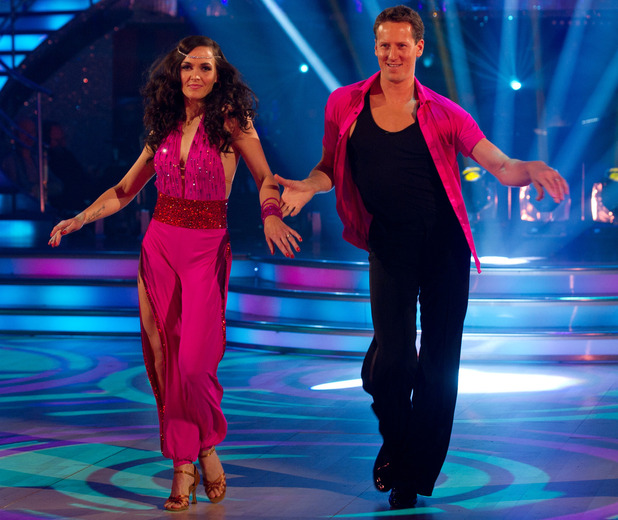 Strictly Come Dancing 2012: (REHEARSALS)  Victoria Pendleton and Brendan Cole