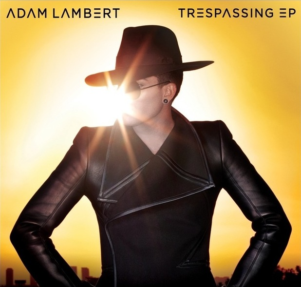 Adam Lambert 'Trespassing' EP artwork.