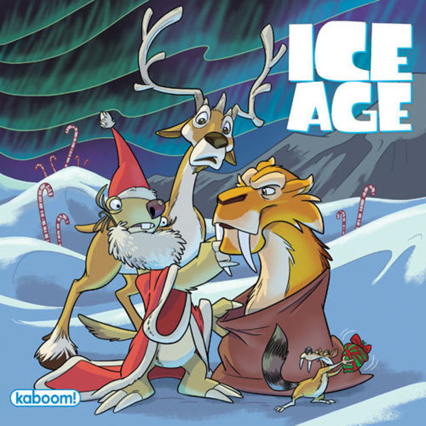 'Ice Age: Past, Presents and Future' artwork