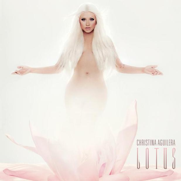 Christina Agulera's new album, 'Lotus' (artwork)