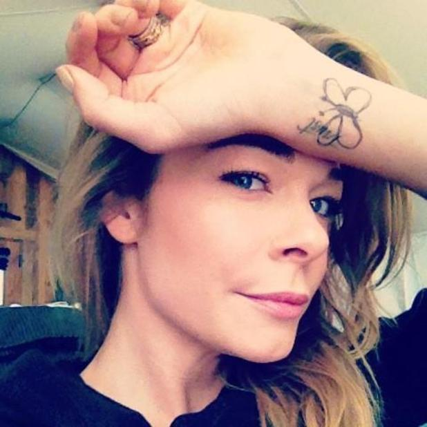 LeAnn Rimes, Butterfly Project tattoo
