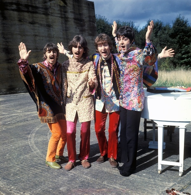 Unseen footage from The Beatles' Magical Mystery Tour