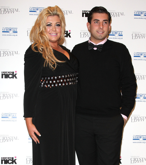 Gemma Collins and James Argent aka Arg A night with Nick in aid of The Stroke Associaton held at Swarovski - Arrivals London, England - 06.12.11 Mandatory Credit: Lia Toby/WENN.com