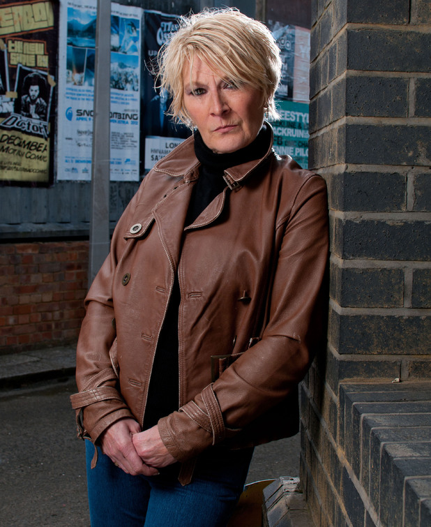 Linda Henry and Shirley Carter in EastEnders