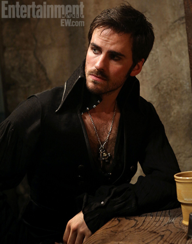 First image of Colin O'Donoghue as 'Captain Hook' in 'Once Upon a Time'