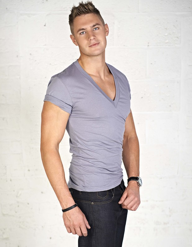 New 'Geordie Shore' cast member Scott Timlin.
