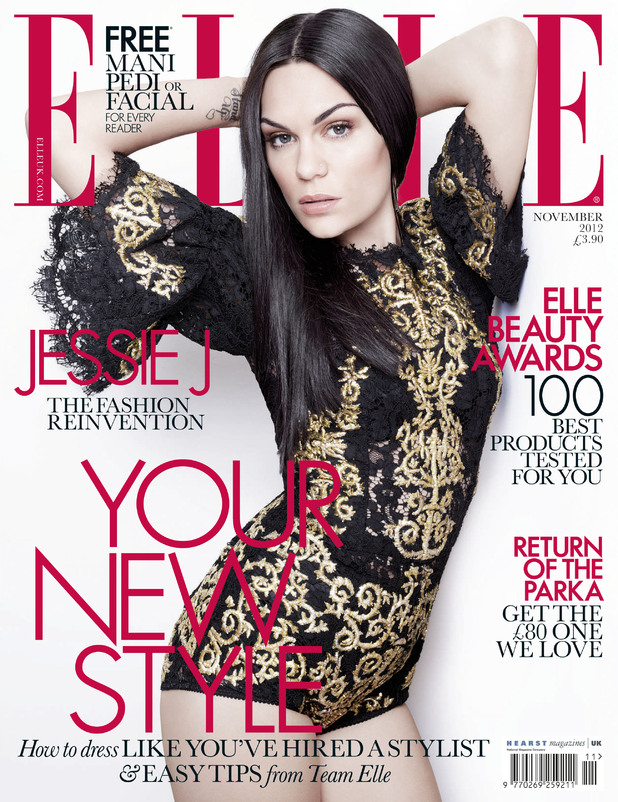 Jessie J Elle magazine cover