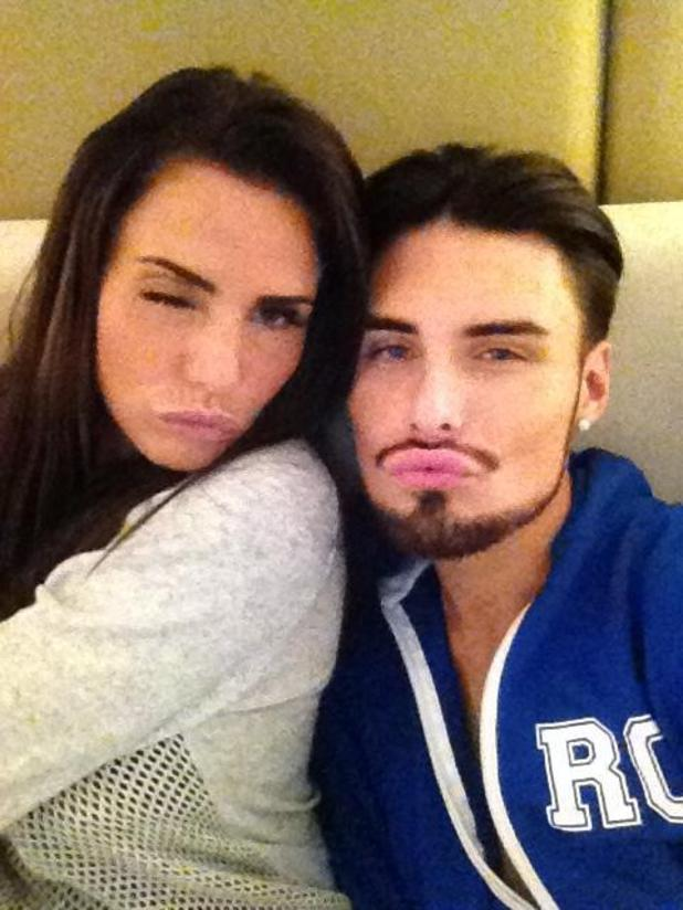 Katie Price and Rylan Clarke