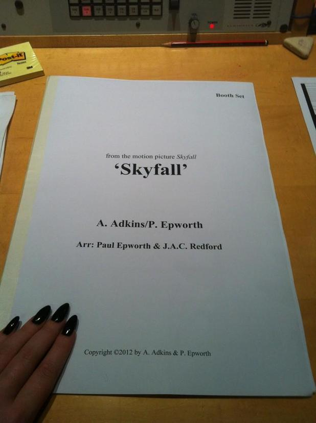 Adele, Skyfall sheet music