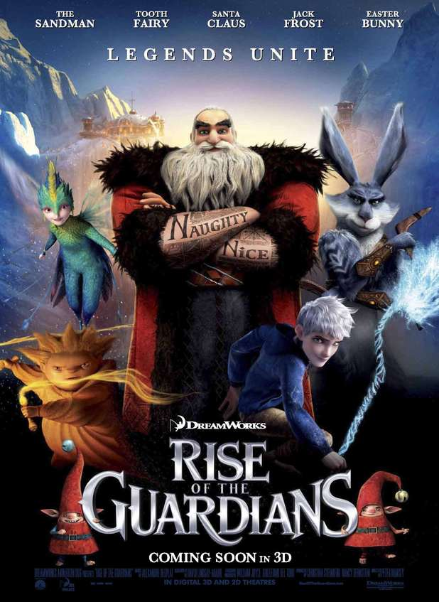 Rise of the Guardian's movie poster