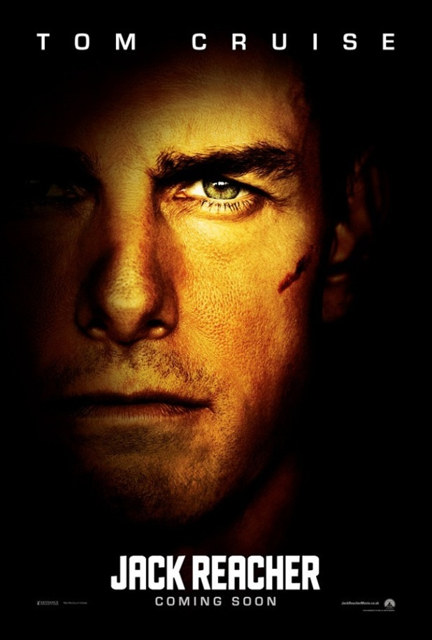 &#39;Jack Reacher&#39; UK Poster
