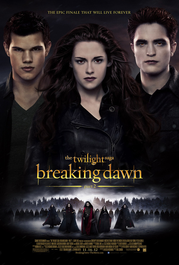 Twilight: Breaking Dawn Part 2 Poster