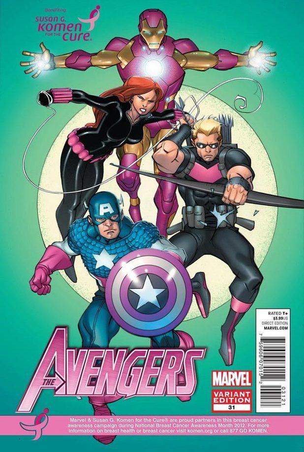 Avengers #31 variant cover