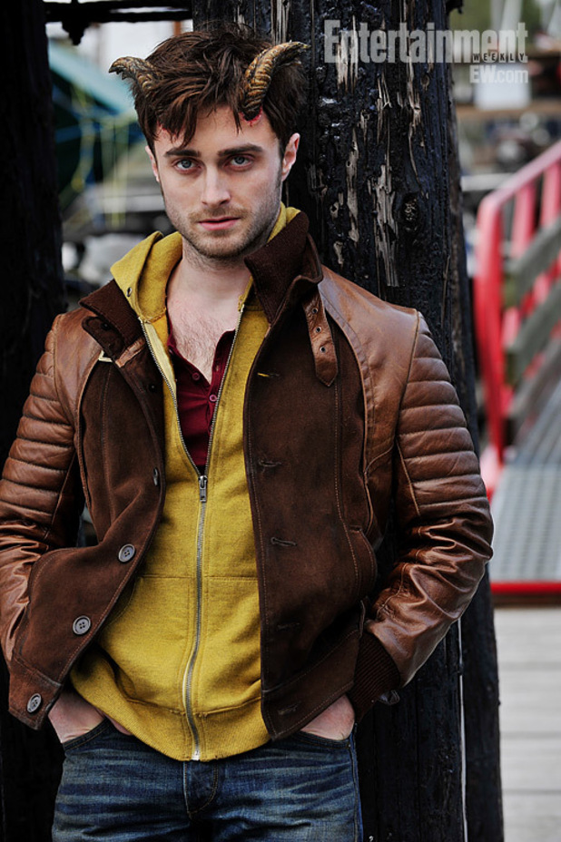Daniel Radcliffe in first 'Horns' picture