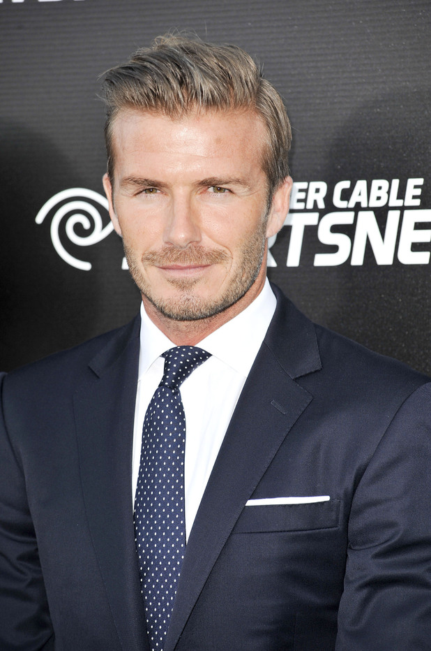 David Beckham, the Time Warner Cable Sports launch of Time Warner Cable SportsNet And Time Warner Cable Networks at Time Warner Cable Sports Studios