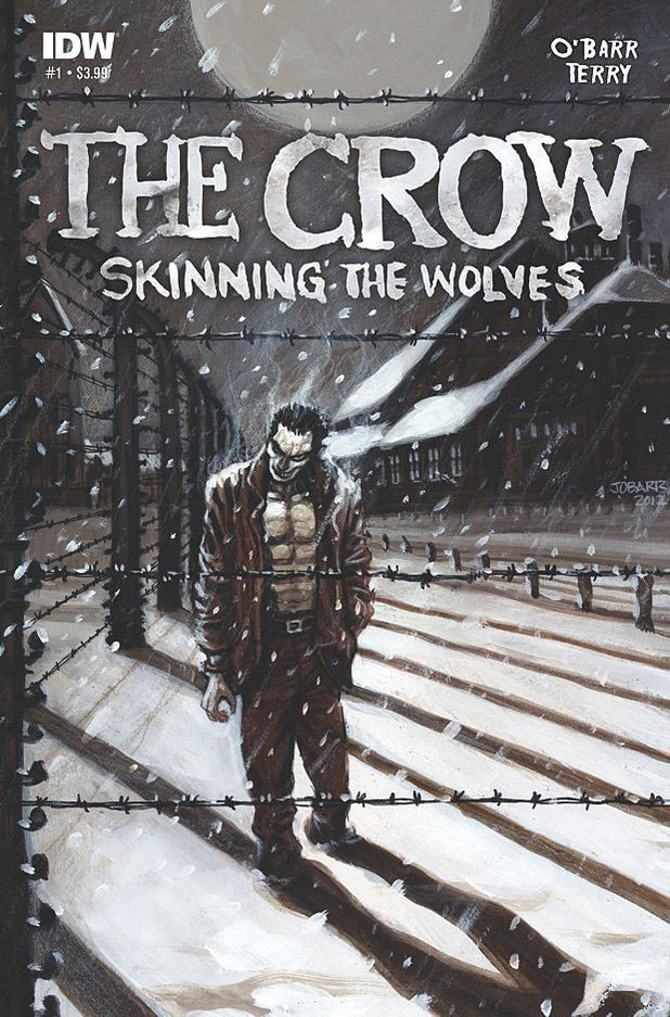 'The Crow: Skinning the Wolves' cover