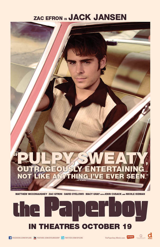 The Paperboy: Character posters
