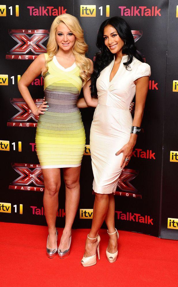X Factor 2012 styles Tulisa & Nicole