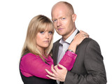 Jo Joyner and Jake Wood as Tanya and Max Branning
