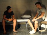 Brax visits Casey in jail.