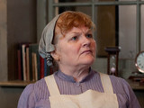 Downton Abbey S03E04: Cara Theobold as Ivy Stuart and Lesley Nicol as Mrs Patmore