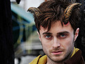The Harry Potter star gets a devilish transformation in the Joe Hill film.