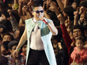 Psy holds on to the top spot for a third week.