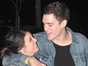 The actress marries Josh Beech just outside London.