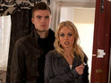 Theresa and Joel get a frosty reception as they head back to Hollyoaks.