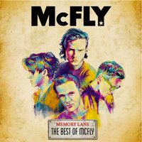McFly 'Memory Lane: The Best Of McFly' album artwork.