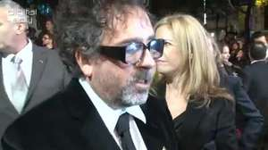 'Frankenweenie' BFI London Film Festival Premiere: Tim Burton, Martin Short interview
