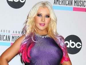Christina Aguilera at 40th Anniversary American Music Awards Nominations, Los Angeles, America - 09 Oct 2012