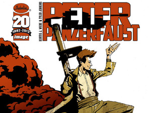 Image Comics&#39; &#39;Peter Panzerfaust&#39; cover