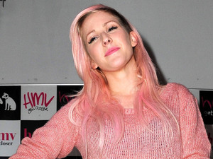 Ellie Goulding promotes and signs copies of her new album 'Halcyon' at HMV Manchester Manchester