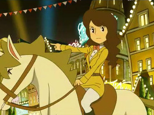 &#39;Professor Layton and the Miracle Mask&#39; screenshot