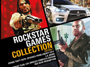 Rockstar Games collection box art