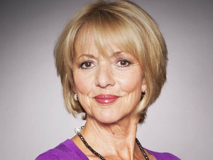 Trudie Goodwin as Georgia Sharma in Emmerdale