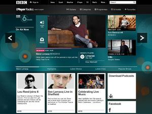 BBC iPlayer radio desktop screenshot