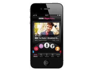 BBC iPlayer radio mobile screenshot