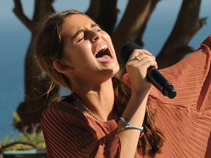 The X Factor USA: Carly Rose Sonenclar at Judges' Houses