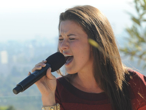 The X Factor USA: Tara Simon at Judges' Houses