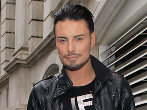 X Factor contestant Rylan Clark out and about in Londokn, Britain - 08 Oct 2012