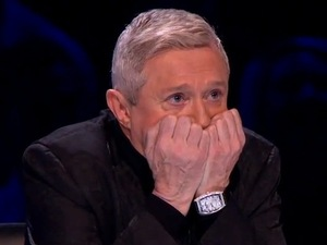 Louis Walsh decides between sending Rylan Clark or Carolynne Poole home on X Factor&#39;s first live show.